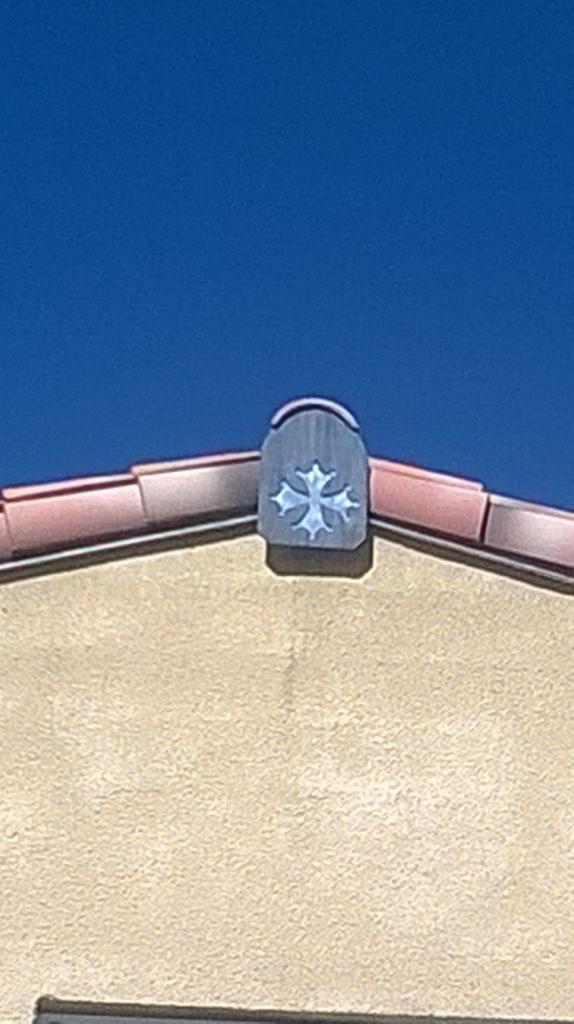 Croix Occitane en ardoise 002