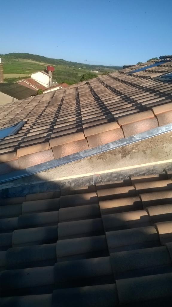 Mitoyenneté d' une toiture